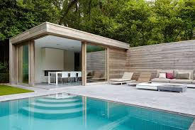pool house.  Pool Poolhouse Op Maat Throughout Pool House