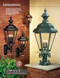 hanover lantern b2330 small jamestown post mount