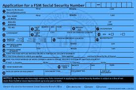 Fsm Security Administration Social Forms –