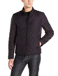 Vince Camuto Men's Quilted Moto Jacket at Amazon Men's Clothing store: &  Adamdwight.com