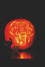 Elephant Pumpkin Carving Pattern Mesmerizing Crafting Page 48 Morestomach