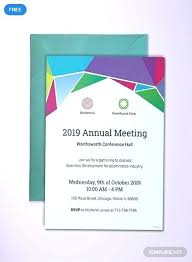 design templates for invitations annual meeting invitation template free annual meeting invitation