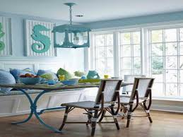 coastal round dining table lovely painted kitchen table design ideas from