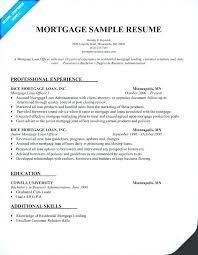 Data Processor Resume Stunning Cover Mortgage Processor Resume Manager Socialumco