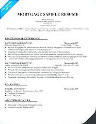 Data Processor Resume Stunning Cover Mortgage Processor Resume Manager Socialumco