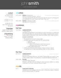 Resume Templates Latex Enchanting LaTeX Templates Curricula VitaeRésumés
