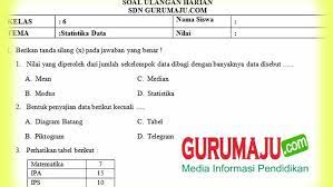 Maybe you would like to learn more about one of these? Soal Statistiha Kls 6 Sd Jawabanku Id