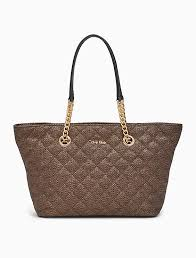 quilted tote bag | Calvin Klein & Image for quilted tote bag from Calvin Klein Adamdwight.com