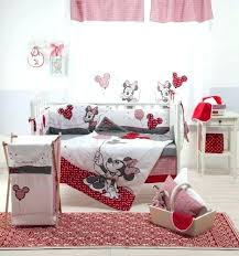 minnie mouse infant bedding set mouse baby room set photo 1 of 9 baby bedding sets minnie mouse infant bedding