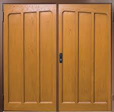 grp side hinged garage doors