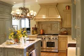 kitchen stone floor ideas classic pendant