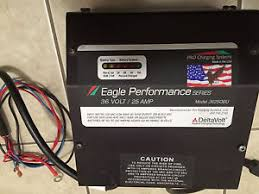 forklift battery charger battery charger 36 volt 25 amp eagle performance golf cart
