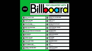 Rock Charts 2000 Billboard Top Country Hits 2000