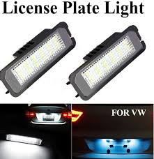 Lupo Lights Australia 2pcs Led License Plate Light For Vw Golf 4 5 Passat 3c Limo