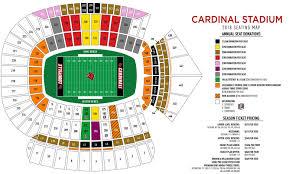 Notre Dame Football Stadium Chart Seat Number Cardinals