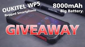 <b>OUKITEL WP5 4G Smartphone</b> Giveaway 8000mAh Rugged Phone