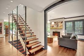 Small Picture Modern House with Whimsical Artworks Seattle Washington
