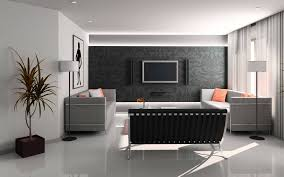 Small Picture Gray Striped Walls Interior Design Wallpaper By Hd Wallpapers