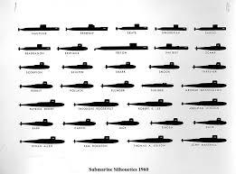 Us Submarine Classes Chart Submarine Photo Index