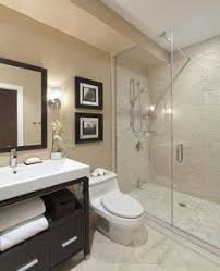 cheap bathroom ideas for small bathrooms. pleasant walk in shower and glass divider beside white closet dark vanity under simple mirror cool wall lamp bathroom decorating ideas cheap for small bathrooms