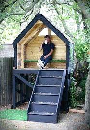 backyard fort plans easy ideas fun unique on forts for kids house outdoor