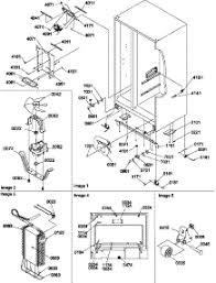 parts for amana srd25s3w p1190325w w refrigerator 04 drain system rollers evap parts for amana refrigerator srd25s3w p1190325w w