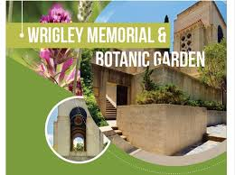 the wrigley memorial botanic garden is a thirty minute stroll up avalon canyon from town center or take a quick ride by golf cart or bike
