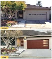 faux wood garage doors cost. Unique Garage Garage Entry Door Installation A New Front And Modern Steel Collection Faux  Wood With Windows Give Cost Doors A
