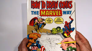 flip through how to draw ics the marvel way by stan lee and john buscema you