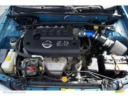 2003 Nissan Sentra SE-R Spec V 2.5 Liter DOHC 16-Valve CVTC 4 ...