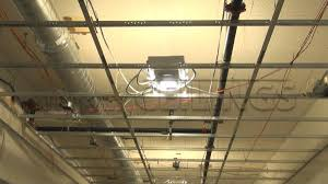 installing drop ceiling light fixtures installing in a drywall suspended ceiling grid installing fluorescent lights in