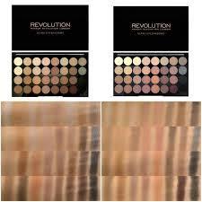 matte makijaż paletką makeup revolution flawless makeup revolution paleta 32 cieni beyond flawless