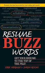 Buzz Words For Resumes Resume Buzz Words Ebook By Erik Herman Sarah Rocha