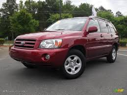 Salsa Red Pearl 2006 Toyota Highlander I4 Exterior Photo #49618834 ...