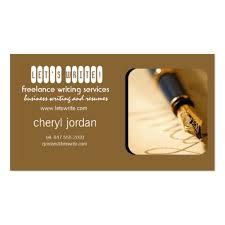 lance writer business cards bizcardstudio fountain pen2 lance writer business card