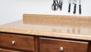 how to wallpaper a laminate countertop