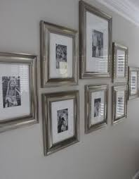silver framed wall pictures