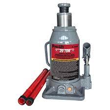 Amazon.com: Pro-Lift B-020D Grey Hydraulic Bottle Jack - 20 Ton Capacity: Automotive