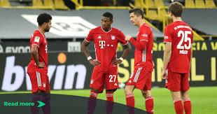 Kickoff for borussia dortmund vs. Borussia Dortmund 2 3 Bayern Munich Bundesliga Player Ratings
