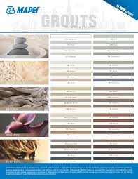 Floor And Decor Grout Color Chart Using Map 106 Walnut And 00 White For Grout Colors Mapei