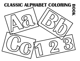 Fileclassic Alphabet Cover At Coloring Pages For Kids Boys Dotcom