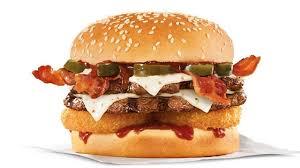 carl s jr y double western bacon