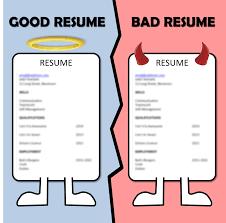 Resume Page1 1275px Resumepdf Resume Good Vs Bad Resumes