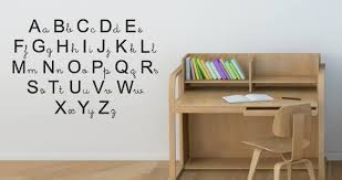 Custom Alphabet Art Galleries In Letter Wall Decals