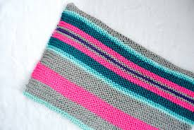 easy native stripes knit blanket  throw – mama in a stitch