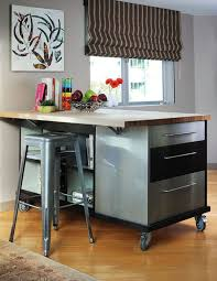 Elegant Rolling Kitchen Islands Are Usually Multipurpose Pieces Of Furniture. View  ... Ideas