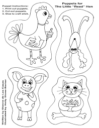 Small Picture Coloring Download The Little Red Hen Coloring Page The Little