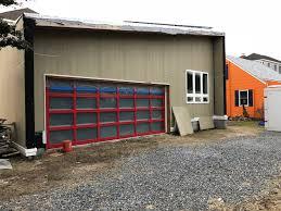 w hardiplank and my custom 120 mph wind rate garage door