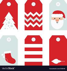Cute Modern Christmas Holiday Gift Tags Printables
