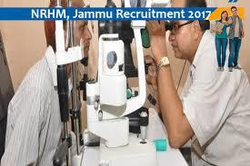 Nrhm, Jammu Job For Paramedical Ophthalmic Assistant- Naukri Nama